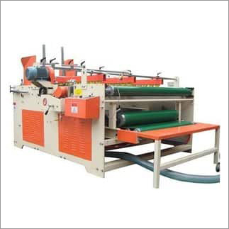 Double Head Semi Automatic Folder Gluer Machine