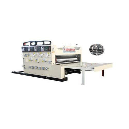 Double Color Printer Slotter Machine