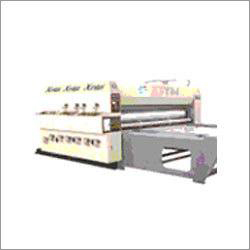 Corrugated Paper Board Slotter Machine