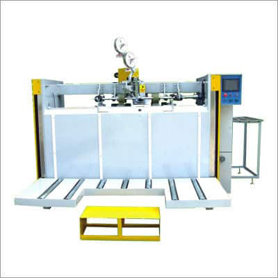 Semi Automatic Stapler Machine