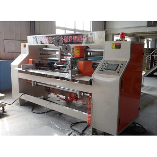 Semi Auto Double Head Corrugated Box Stitching Machine