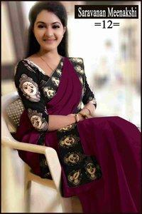 Chanderi Designer Saree