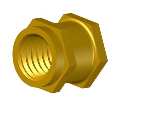 Brass Hexagonal Insert