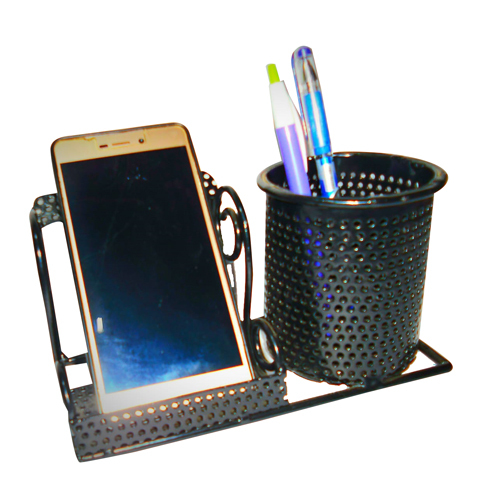 Mobile Cum Pen Stand