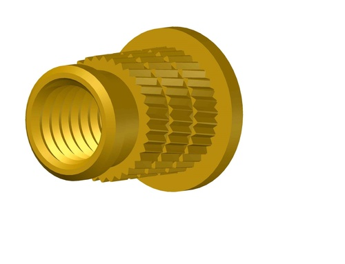 Symmetrical Brass Insert