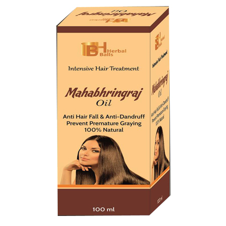 Herbal Mahabhringraj Hair Oil