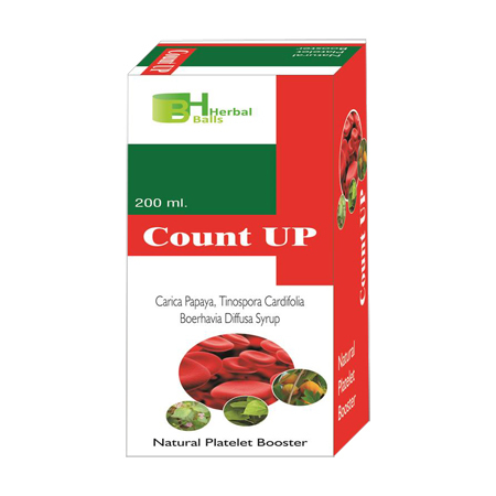 Herbal Count Up syrup