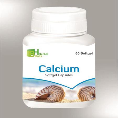 Herbal Calcium Softgel Capsules