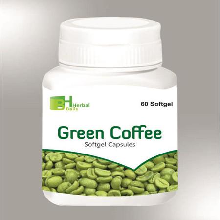 Herbal Green Coffee Softgel Capsules