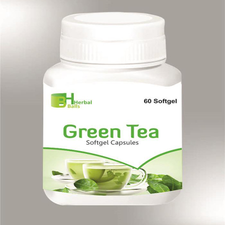 Herbal Green Tea Softgel Capsules