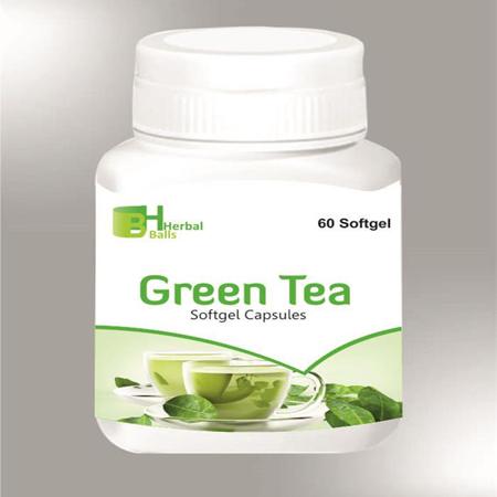Herbal Green Tea Softgel Capsules