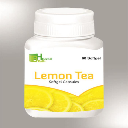 Herbal Lemon Tea Softgel Capsules