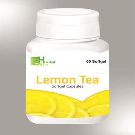 Herbal Lemon Tea Softgel Capsules