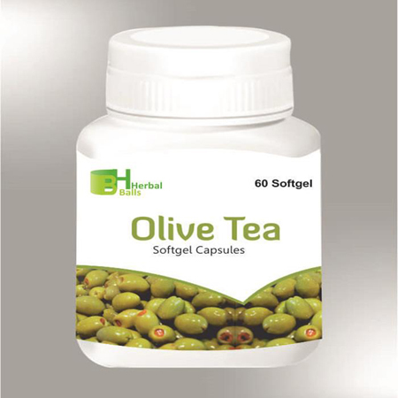 Herbal Olive Tea Softgel Capsules