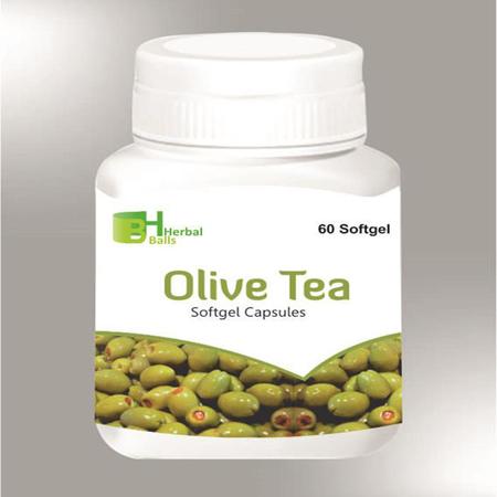 Herbal Olive Tea Softgel Capsules