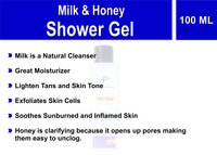 Milk & Honey Shower Gel
