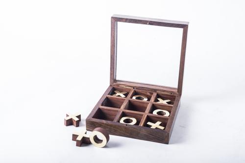 Tic Tac Toe Mango Wood Puzzle