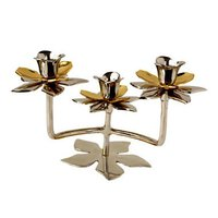 Golden 3 Lite Candle Stand
