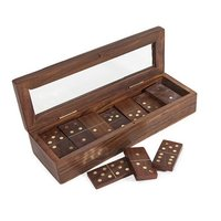 Domino With Glass Top