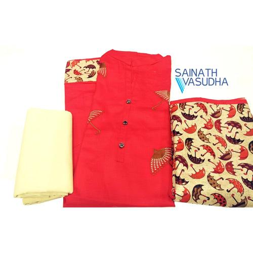 Ladies Cotton Suit Dress Material