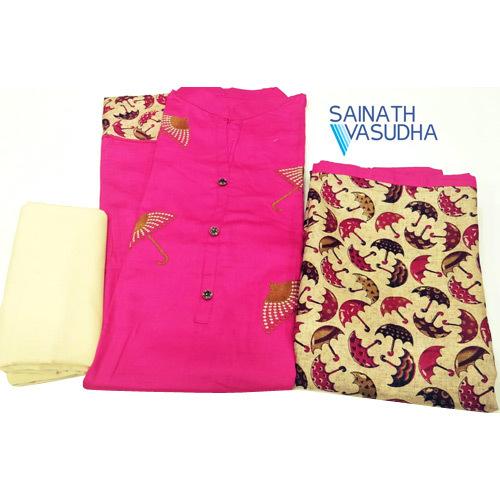 Cotton Fabric Dress Materials