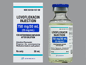 levofloxacin injection