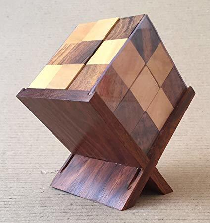 Soma Cube With Stand