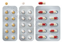 Medical Pill Capsule Blister Packaging Machine