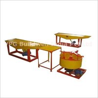 Vibratory Table Type Power Block Machine