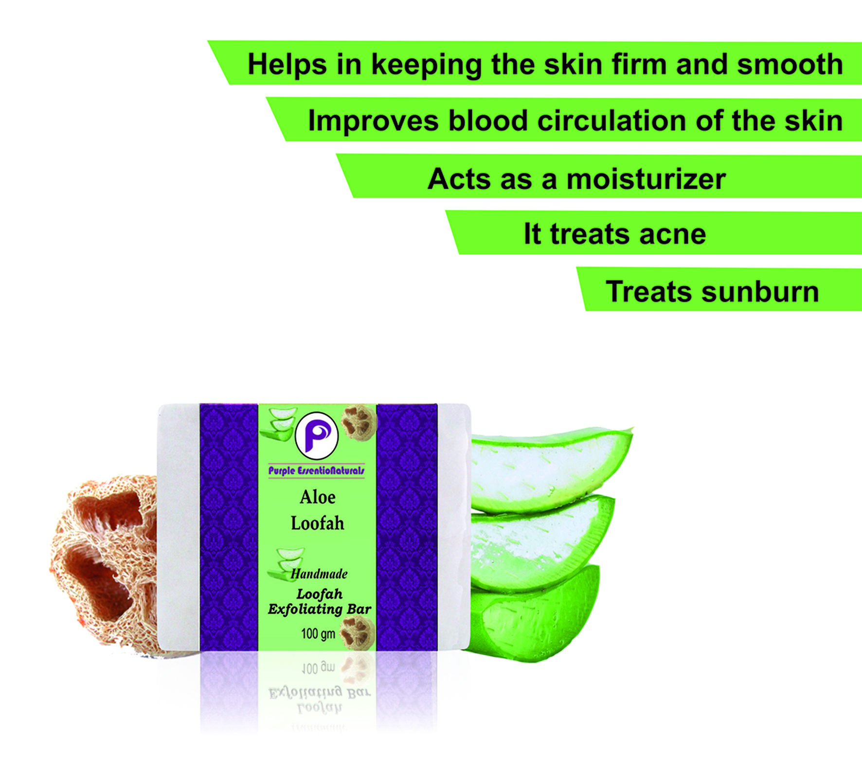 Aloe Luffah soap