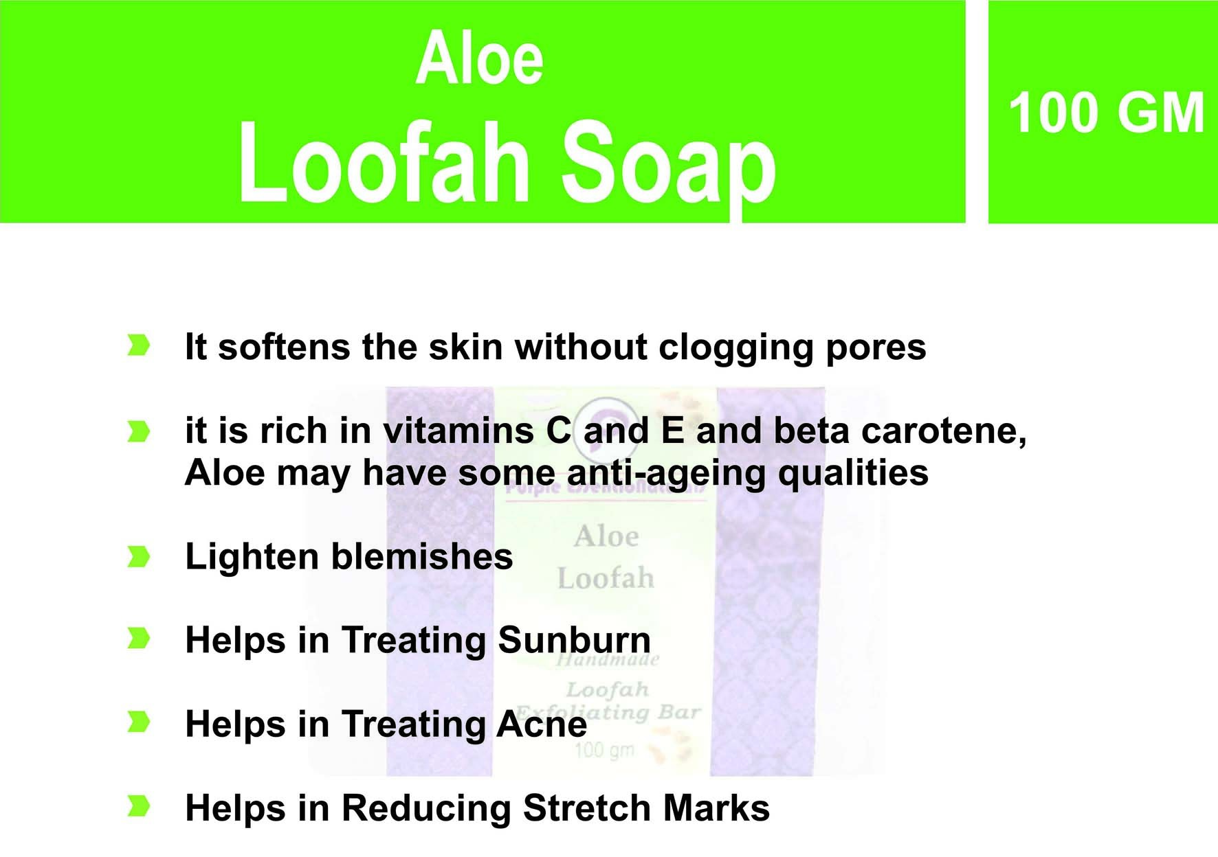 Aloe Luffah soap