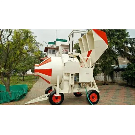 Reversible Drum Type Concrete Mixer