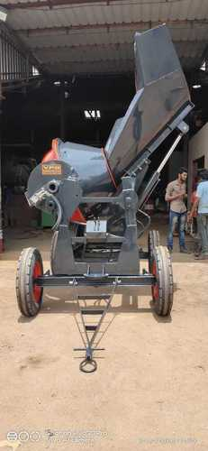 Power Steering Type Concrete Mixer