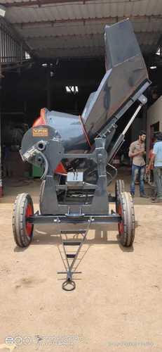 Power Steering Type Concrete Mixer