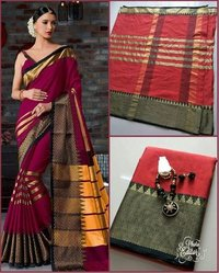 Cotton Art Silk Saree