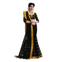 Cotton Fancy Designer Silk Saree