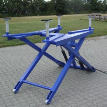 Semi Automatic Car Scissor Lift