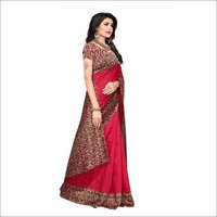 Mysore Fancy Print Saree