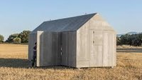 Cement Wood Composite Huts