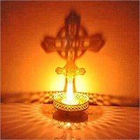 Jesus t light holder