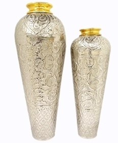 Aluminium Vases