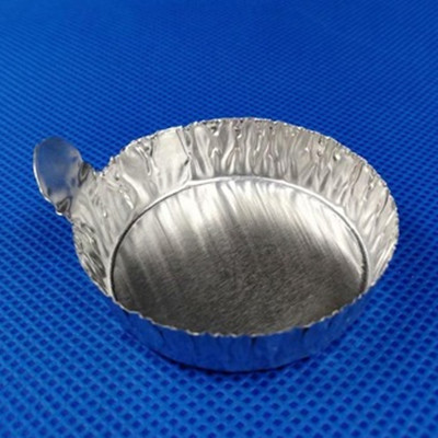 Round Aluminum Dishes with Tabs