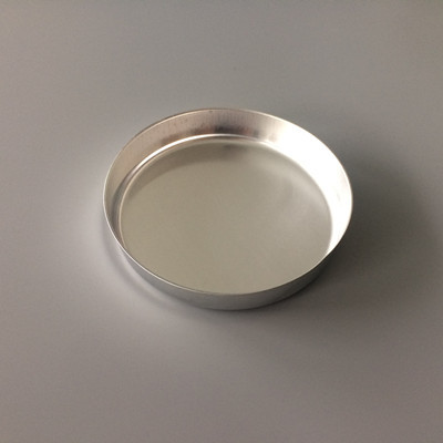 Disposable Smooth-Walled Aluminum Weighing Dishes