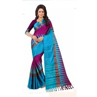 Cotton Pure Silk Saree