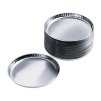 Smooth-Walled Aluminum Dishes