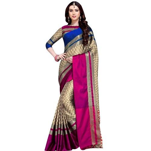 Cotton Fancy Silk Saree