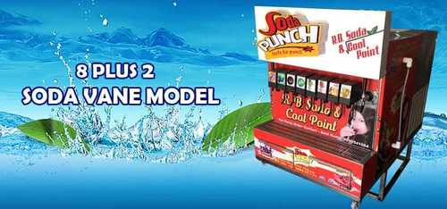 8 +2 Shop Machine Soda Punch Soda Machine