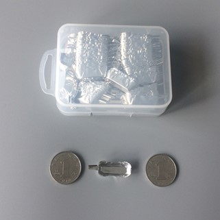 Rectangle Micro Aluminum Weighing Boat with Handle
