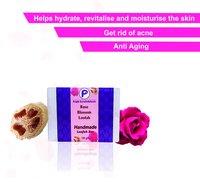 Rose Blossom Luffah Soap