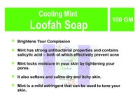 Cooling Mint Luffah Soap